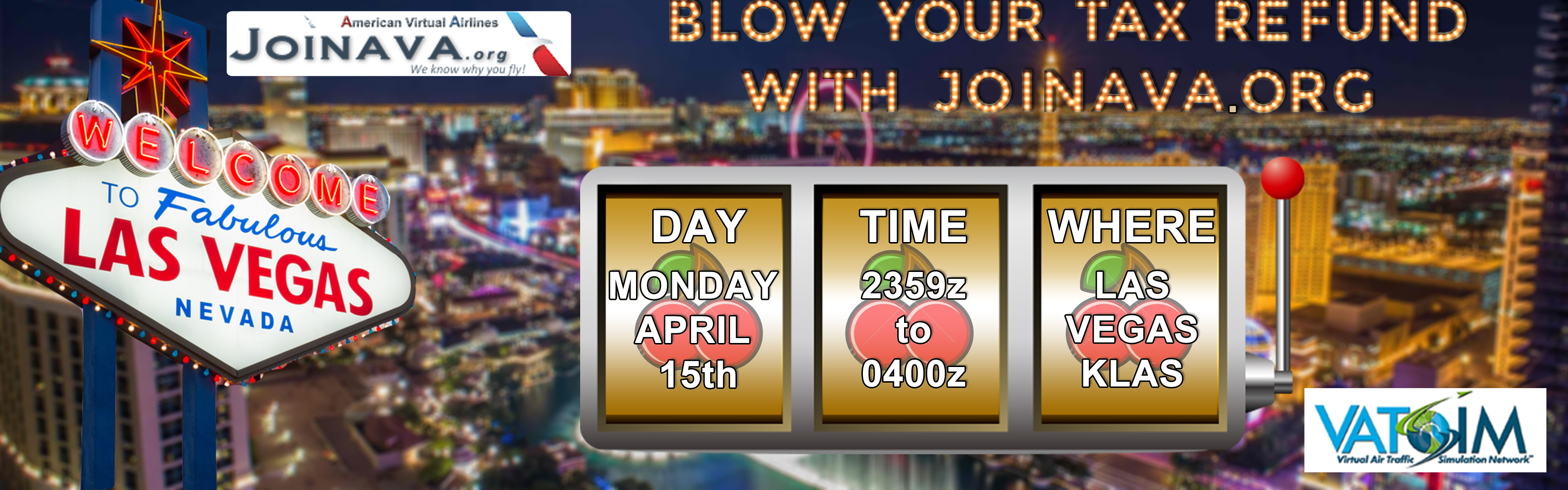 Blow Your Refund In Vegas